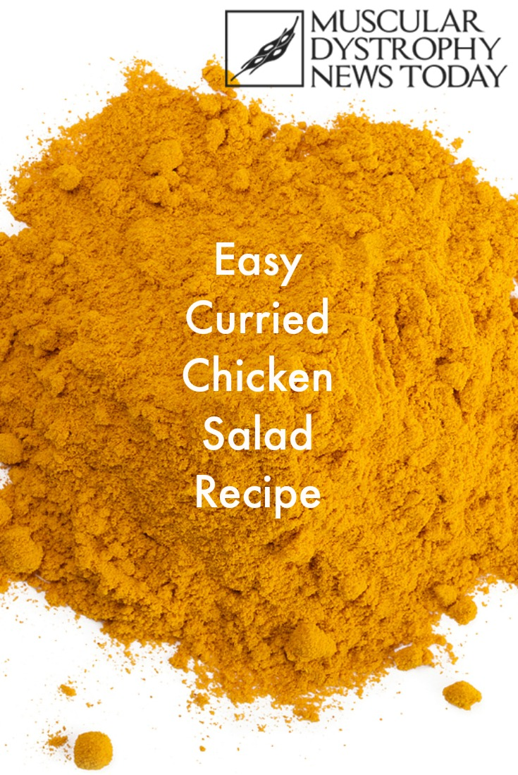 easy curried chicken salad recipe