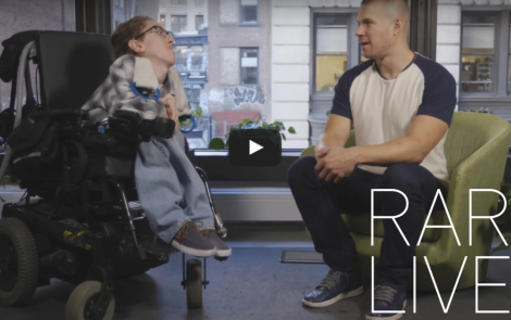 Comedian With Musuclar Dystrophy Discusses Jokes, Dating and Sex
